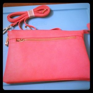 Handbags - Coral Shoulder Purse